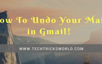 how to undo your emails in gmail