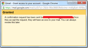 One s access your gmail account without knowing your password
