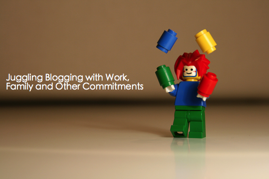blogging with work