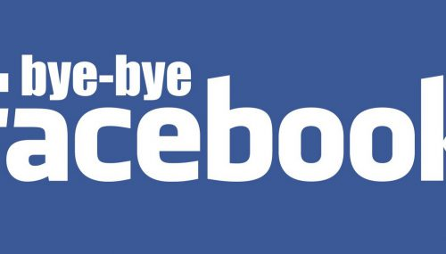 Goodbye Facebook! Hello Work