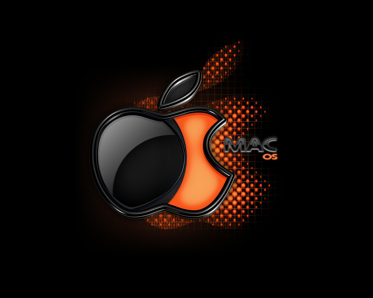Apple-Wallpaper black