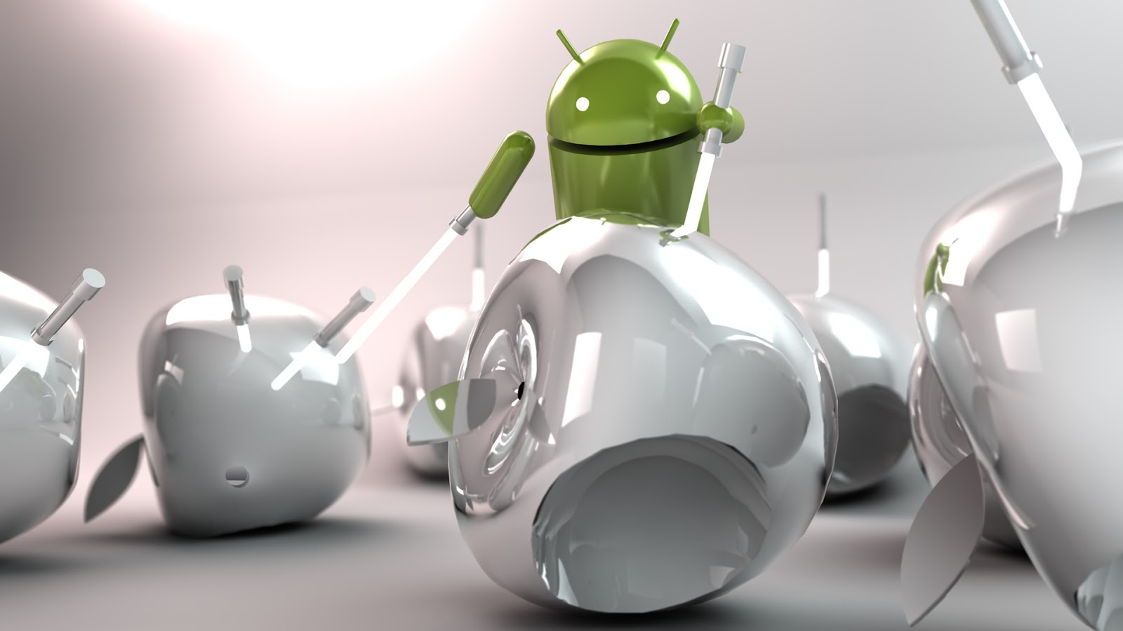 android Apple HD wallpaper