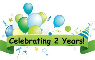 celebration 2 years completed