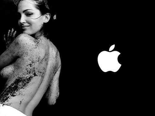 hot apple wallpaper