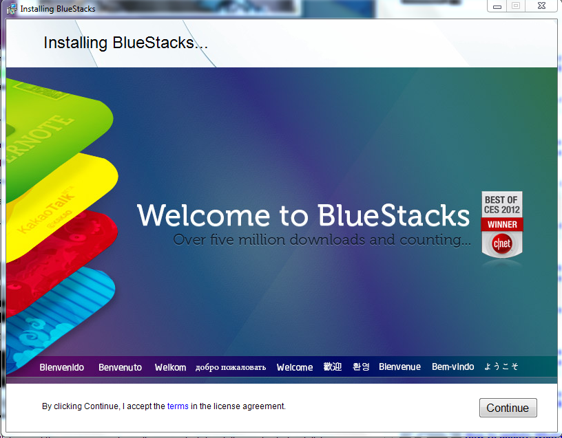 Installing  bluestacks - Whatsapp