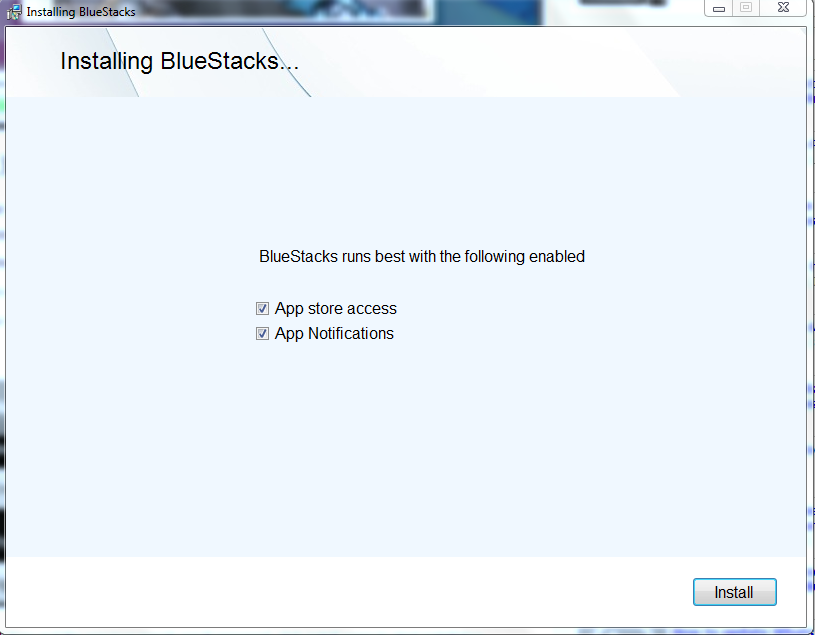 Install Bluestacks - Whatsapp on PC
