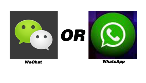 WhatsApp or WeChat? Which is your favorite?