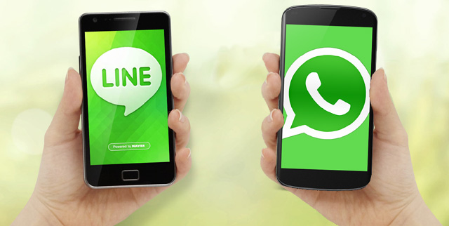Line app - Instant messaging