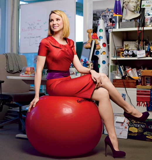 sexy-marissa-mayer-red-dress-hot-pic
