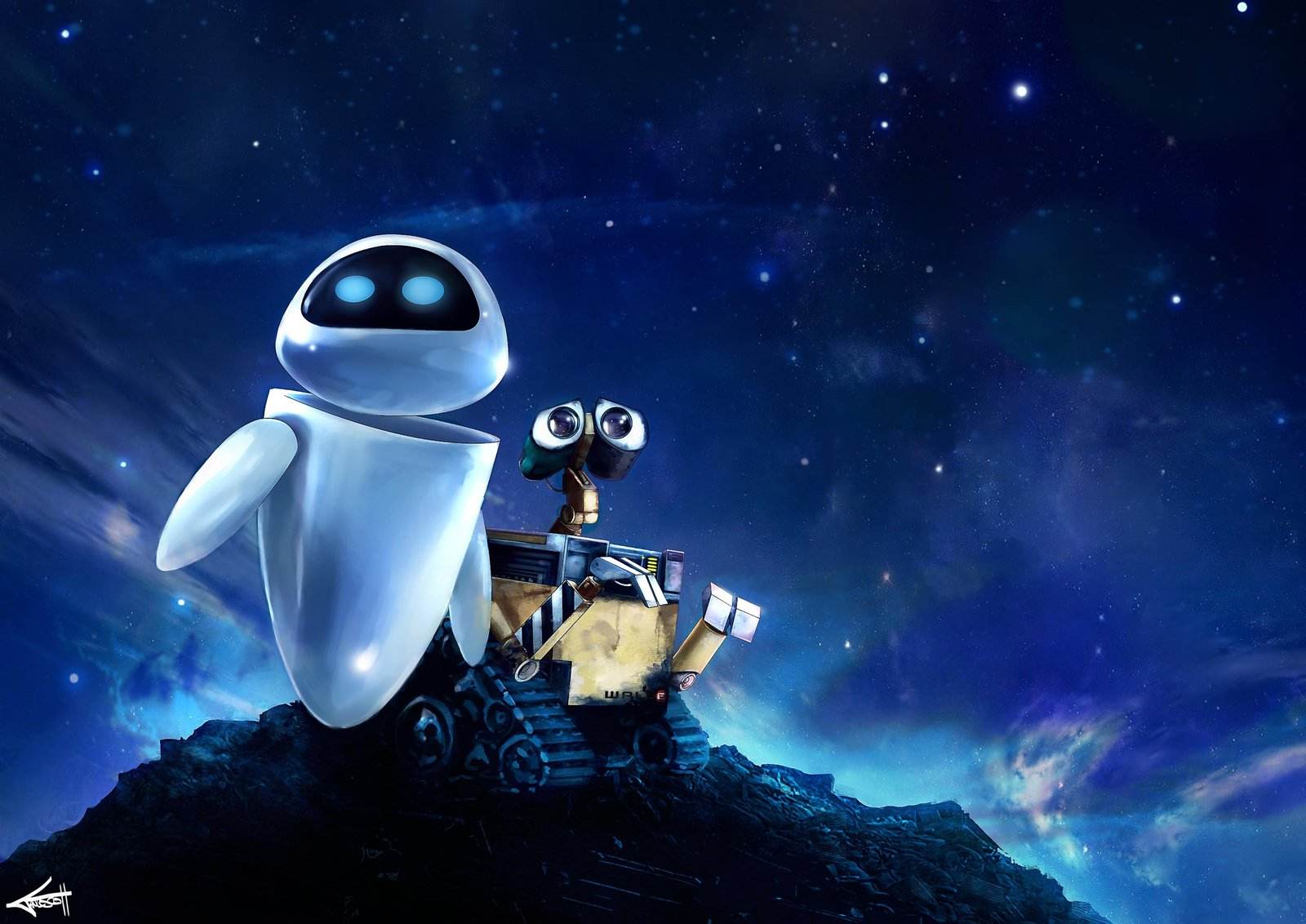 wall-E computer tech movie