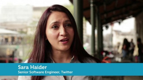 Sara Haider – Software Engineer at Twitter
