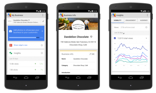 Google's New Service For Businesses, Google My Business