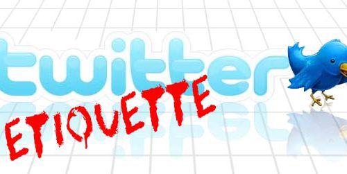Twitter Etiquette: Retaining Followers