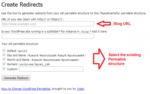 Why and How To change Permalinks of an established blog?