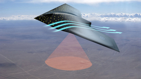 Smart Skin for Aircraft to Detect Damage