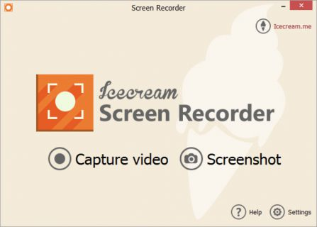 IceCream Screen Recorder – Designed For Efficient Screen Capture