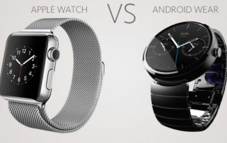 Android Wear Vs apple watch