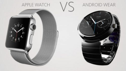 Apple Watch Vs Android Wear – Who'll be the winner?