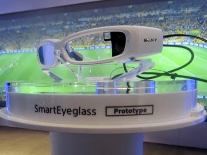 Sony SmartEye: The rival of Google glass is here