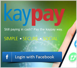 kaypay - payment using FB