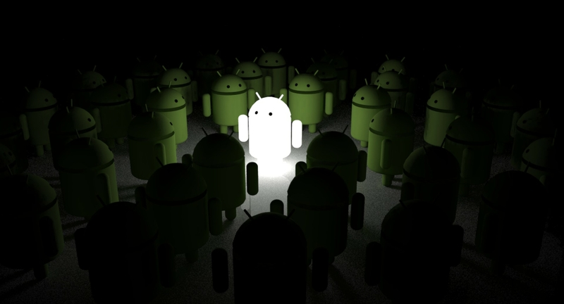Green-white-android