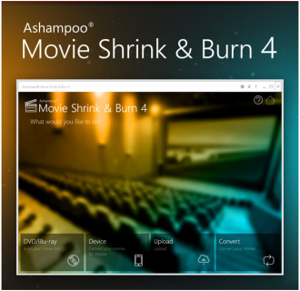 Ashampoo Movie Shrink & Burn 4 (Review + Giveaway)