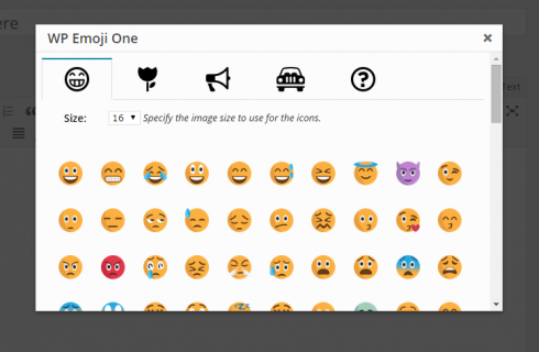 Emojis on WordPress