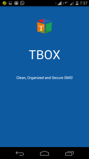 TBOX – A Reincarnation of SMS