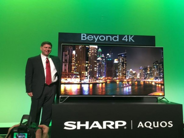 Beyond 4K TV by Sharp