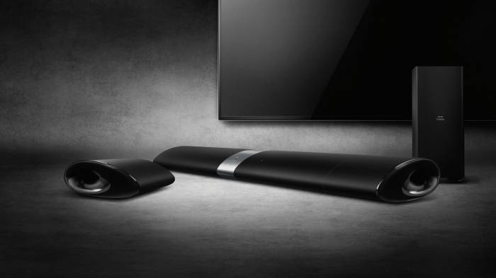 Phillips Fidelio B5 Surround-On-Demand Soundbar