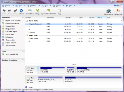 Free Partition Manager to Easily Resize Partition
