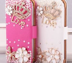 Girls Can Compliment Their Accessories with Glam Phone Cases