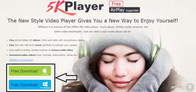 How to Play 4K/5K HD Video with 5KPlayer, An All-round Free Media Player
