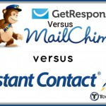 GetResponse Vs MailChimp Vs ConstantContact – Which's the Best?
