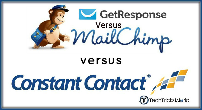 Email Marketing comparision