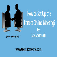 How to Set Up the Perfect Online Meeting?