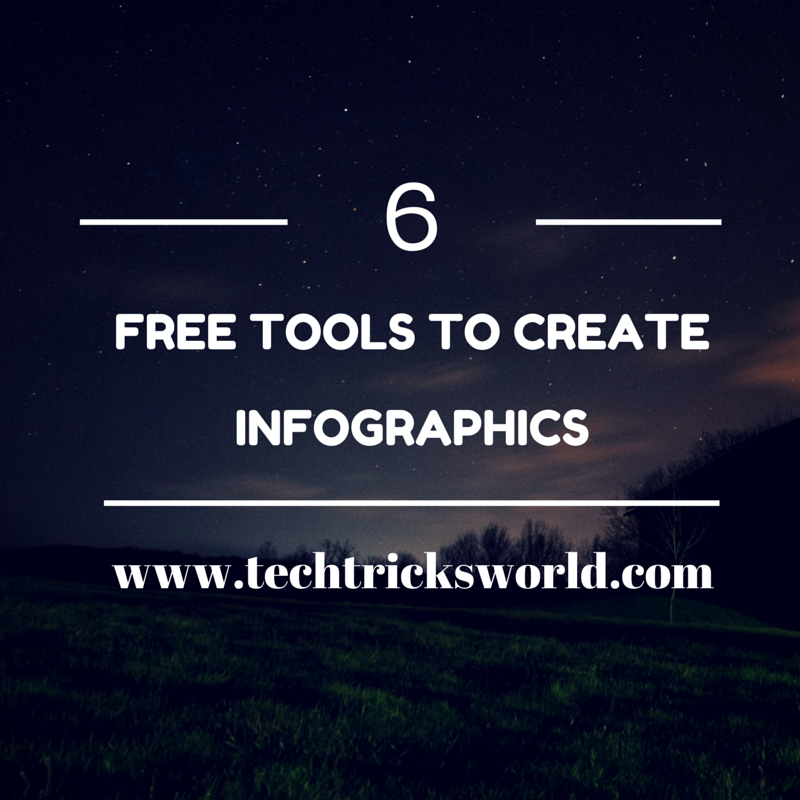 6 Free Tools to Create Infographics