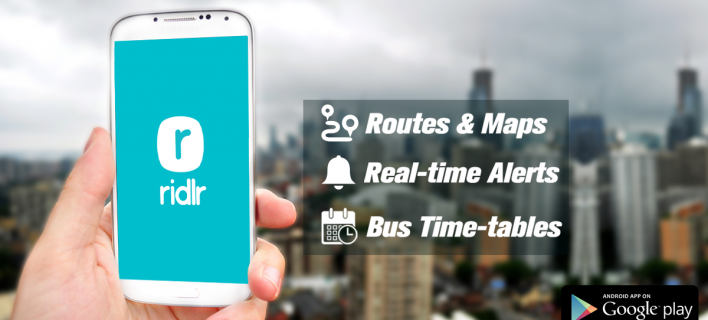 Ridlr – Planning Your Journey Couldn't Have Been Easier