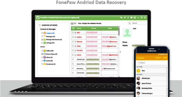 FonePaw Android Data Recovery|Save Life of Android Files
