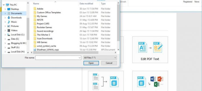 Edit, convert and modify PDF files with Wondershare PDFelement