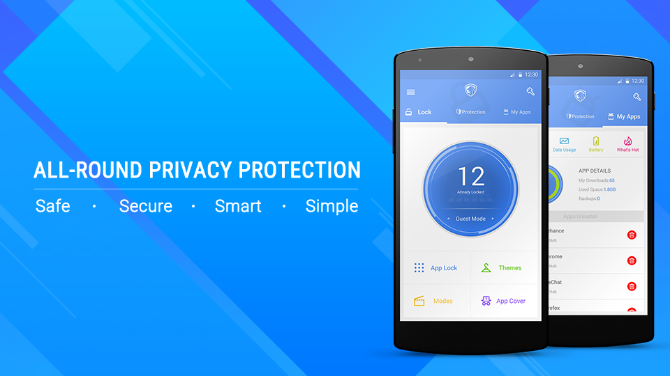 LEO privacy guard applock