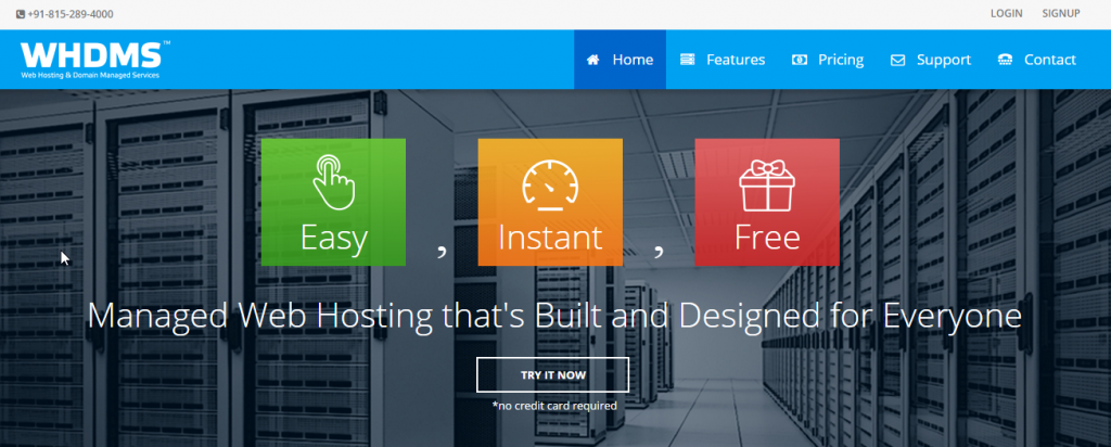 Whdms managed web hosting
