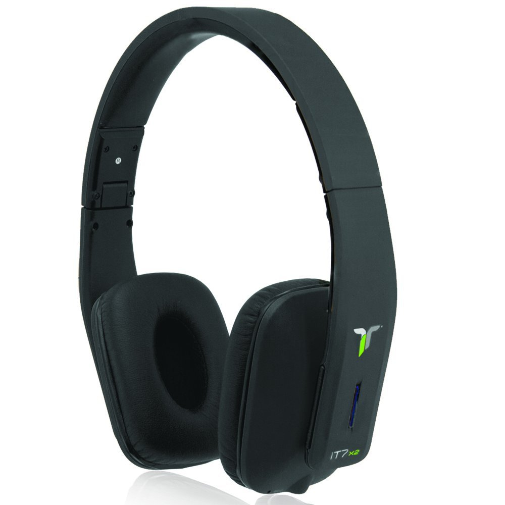 iT7x2 Foldable Wireless Bluetooth Headphones