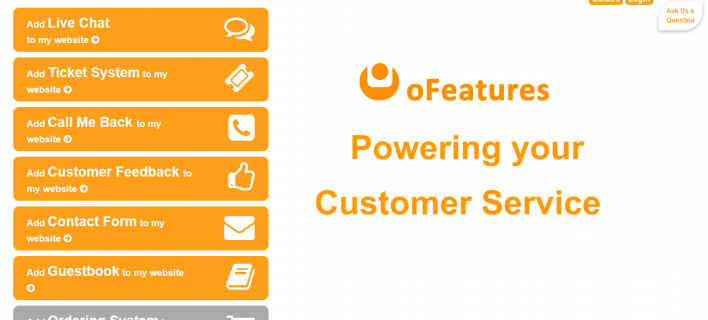 oFeatures – Customer Support Service [Review]