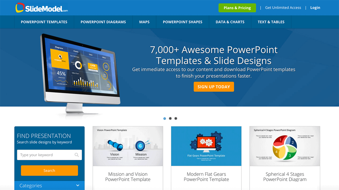 Free Powerpoint Slide Template