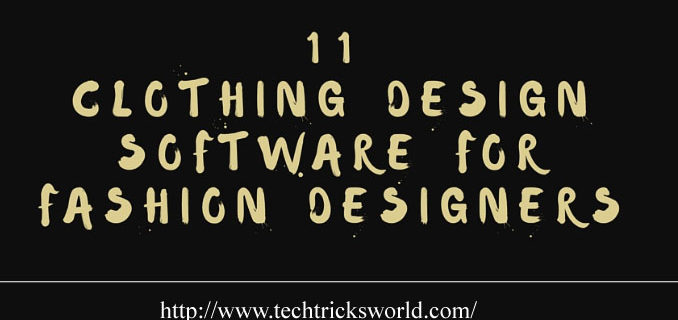 11 Clothing Design Software for Fashion Designers