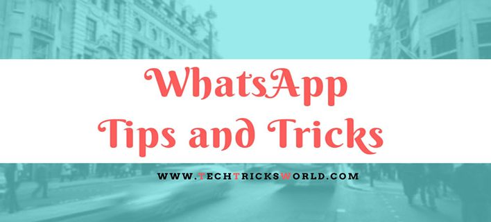 WhatsApp Tips and Tricks for 2016