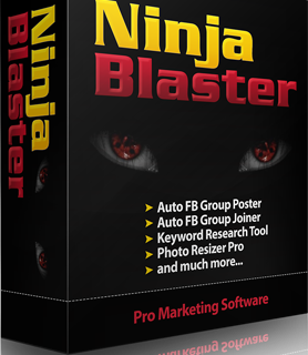 Ninja Blaster – Online Marketing on Autopilot