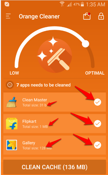 Orange Cache Cleaner2