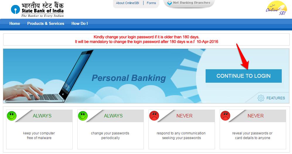 SBI online banking_2